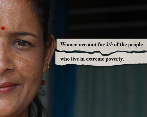 relationship between gender inequality and poverty